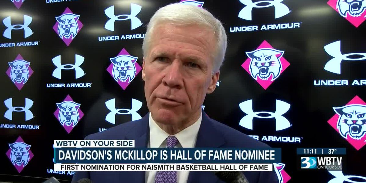 Davidson's Bob McKillop a first-time Basketball Hall of Fame nominee