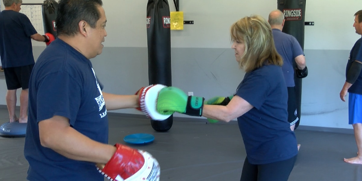 Boxing gym helps people with Parkinson's disease to fight and get stronger