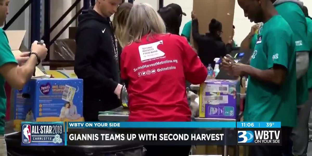 Giannis teams up with Second Harvest for NBA All-Star game