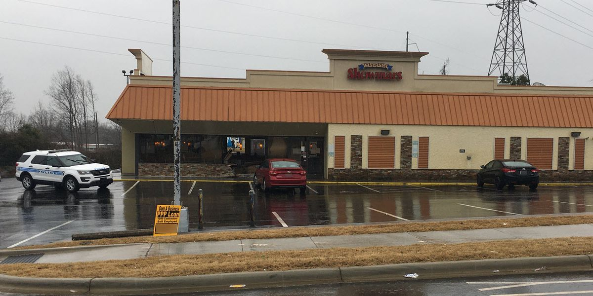 Three injured when car crashes into Showmars in west Charlotte