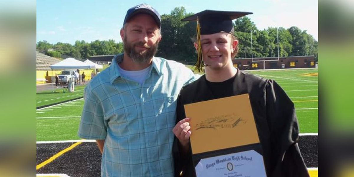 Molly's Kids: 4-years after Aaron Evans first brain tumor; he graduates high school