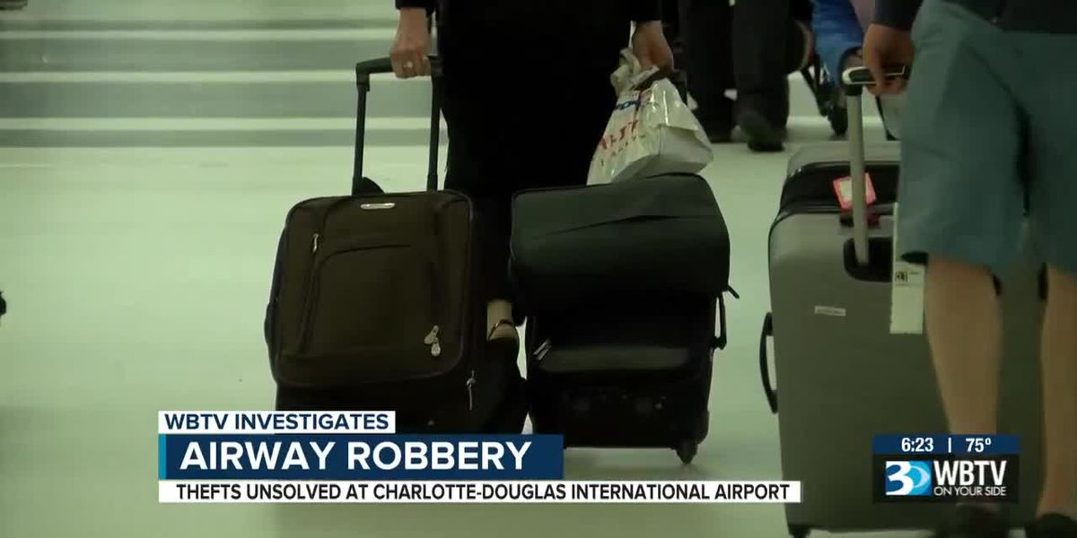 Airway Robbery: Thefts unsolved at Charlotte-Douglas Airport