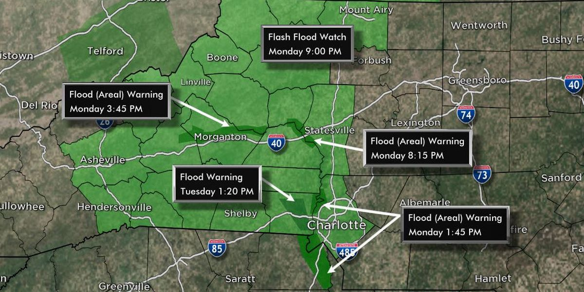 First Alert continues due to more potential flooding
