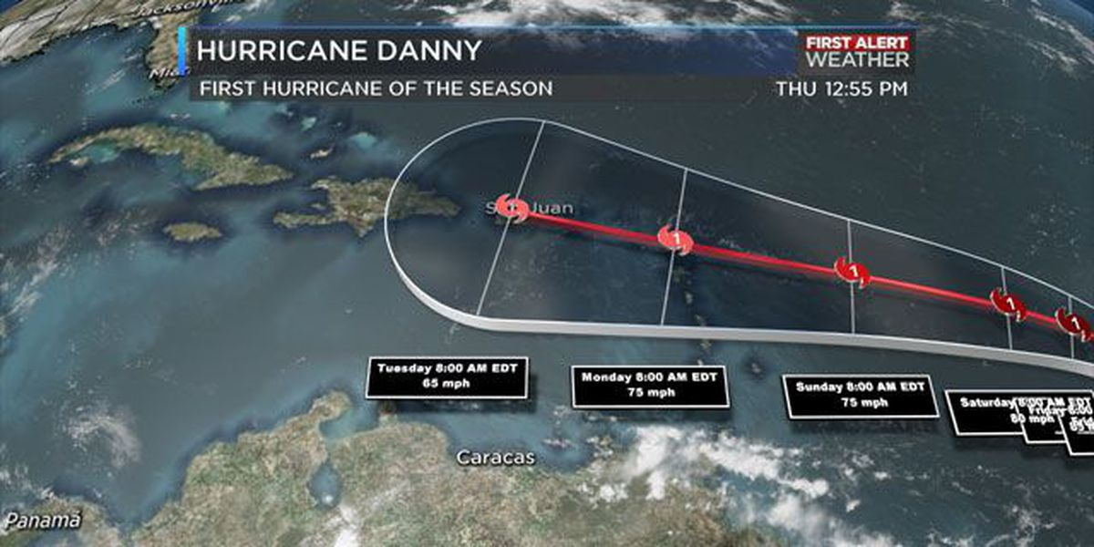 BLOG: Hurricane Danny
