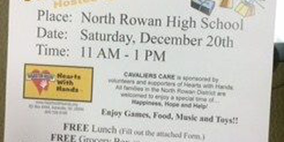 """""""Cavaliers Care"""" event this Saturday at North Rowan High"""