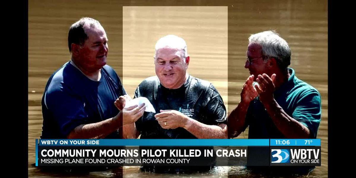 Community mourns pilot killed after missing plane found crashed in Rowan County