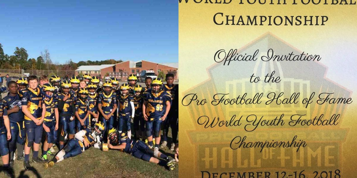 'Where inspiration was born and football lives' local youth football team gets invitation from Pro Football Hall of Fame