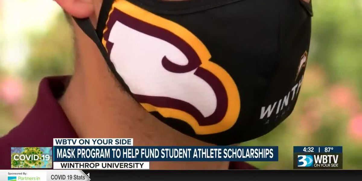 Winthrop University mask program to help fund student athletic scholarships