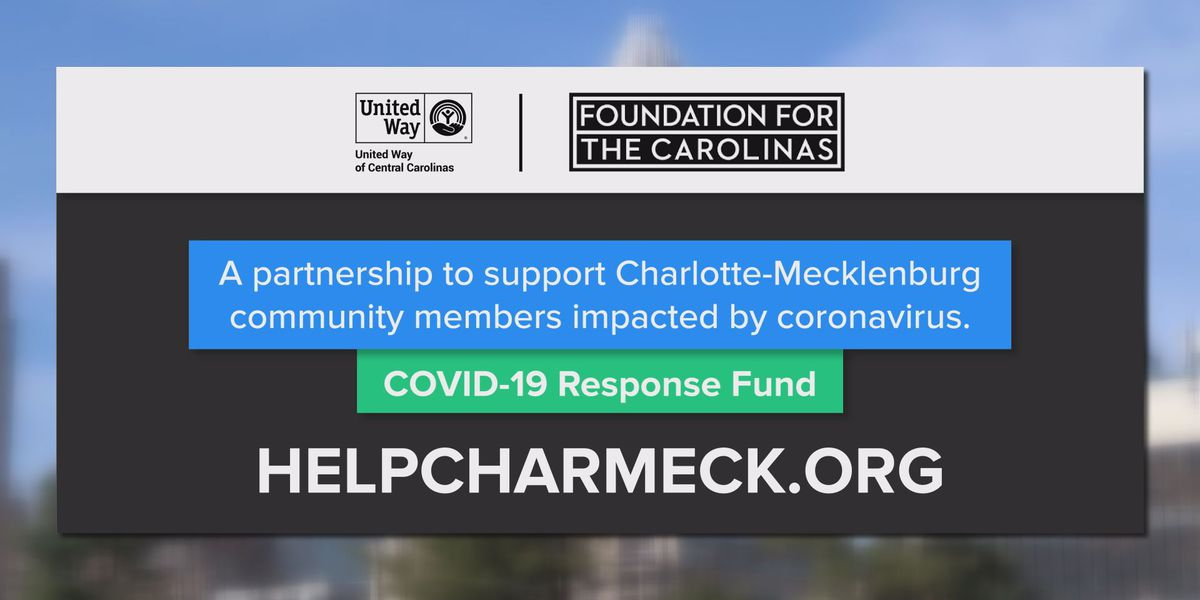 Charlotte COVID-19 Response Fund prepares to make grants, offer help