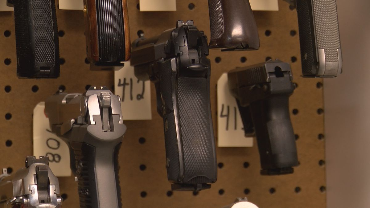 Police chief says CMPD has 18K confiscated guns, no intention of putting them back on the street