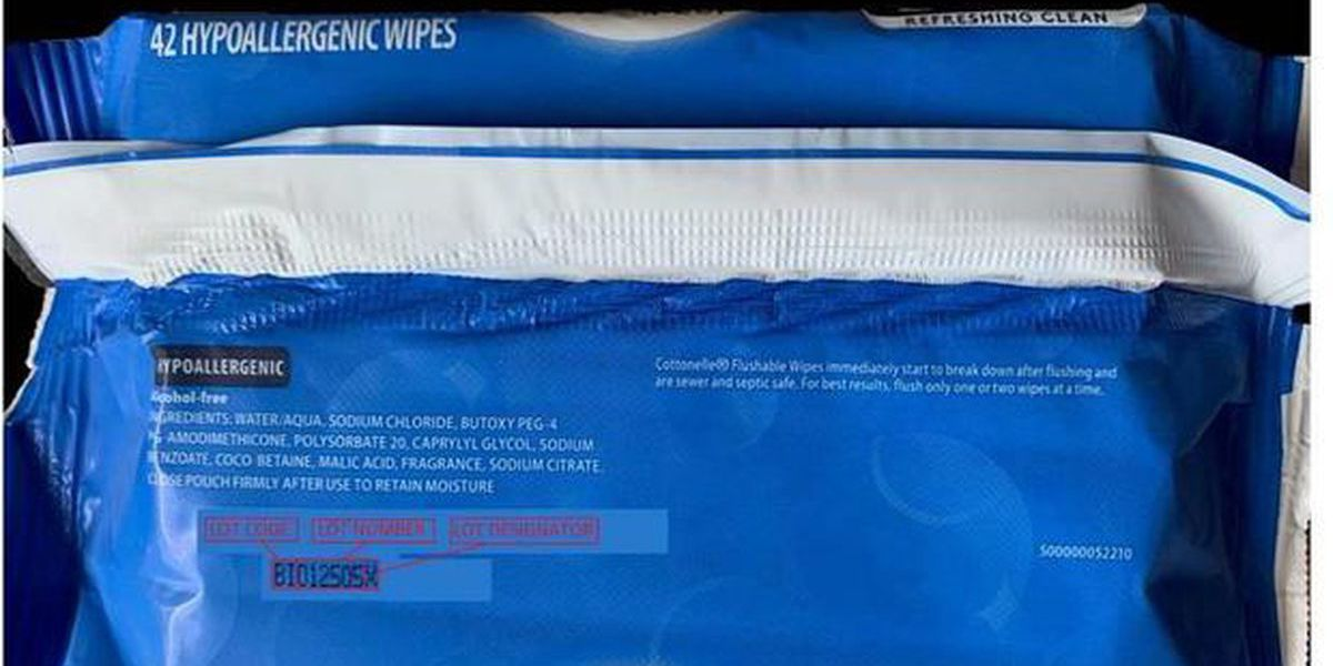 Cottonelle recalls wipes due to possible bacteria contamination