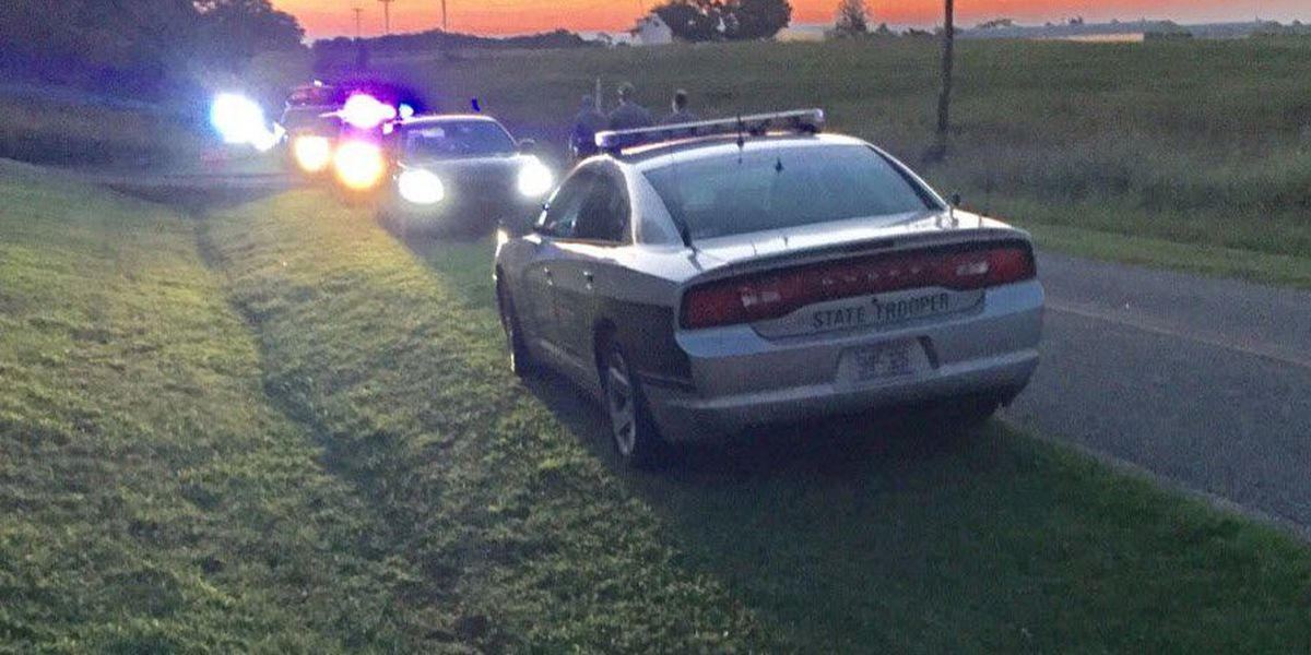 Man lying in road allegedly shot at troopers with AR-15, later found in soybean field
