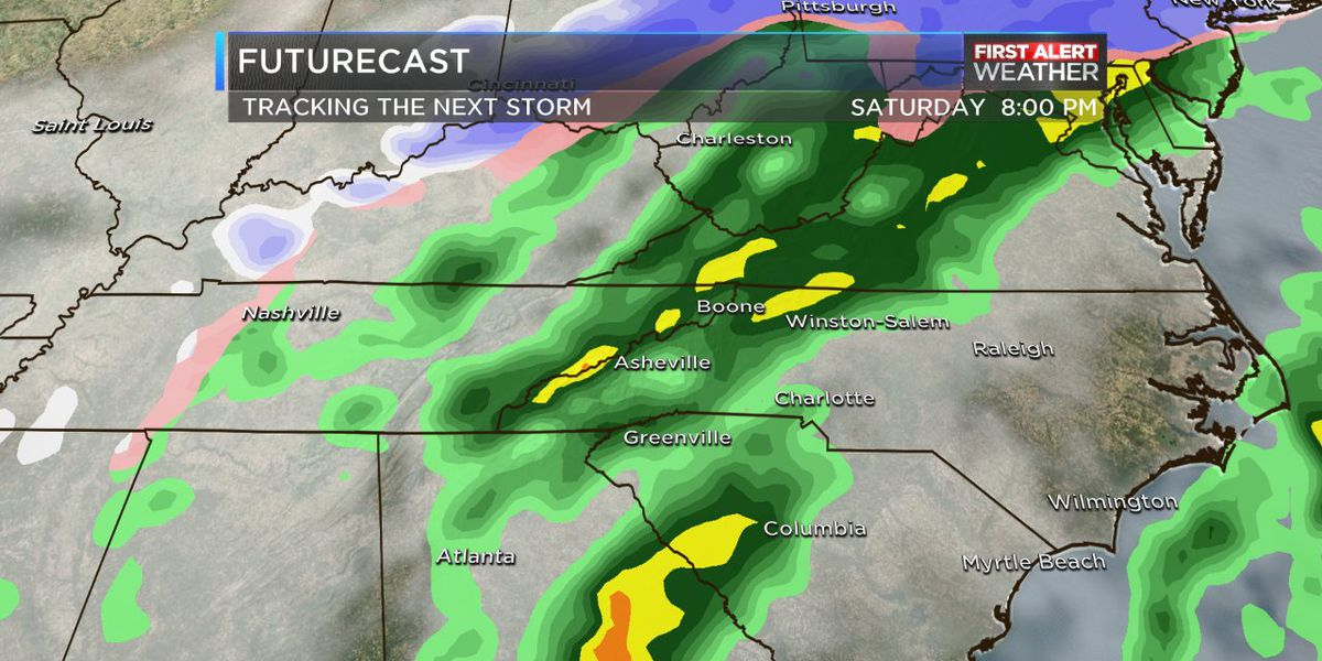 After Thursday's rain Friday will turn out pleasant with clouds, sun