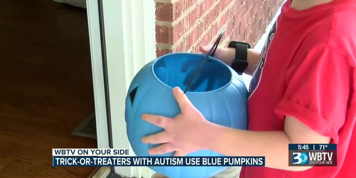Charlotte-area children living with autism joining movement to use blue Halloween buckets