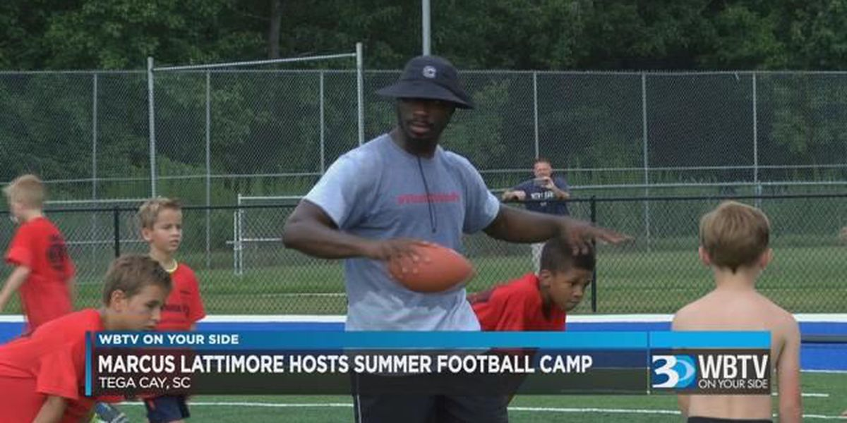 Marcus Lattimore continues summer camp series