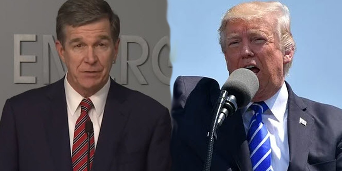 Gov. Cooper: Trump welcome in N.C. for RNC, but no plans laid out