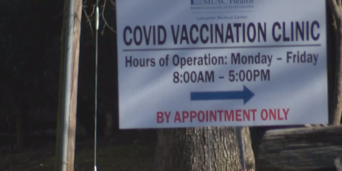SC health leaders say next vaccination phase likely won't start for a couple months