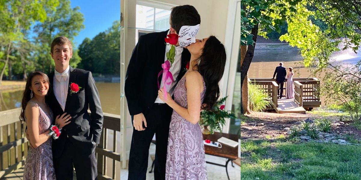 Charlotte high school sweethearts have special-themed prom for two