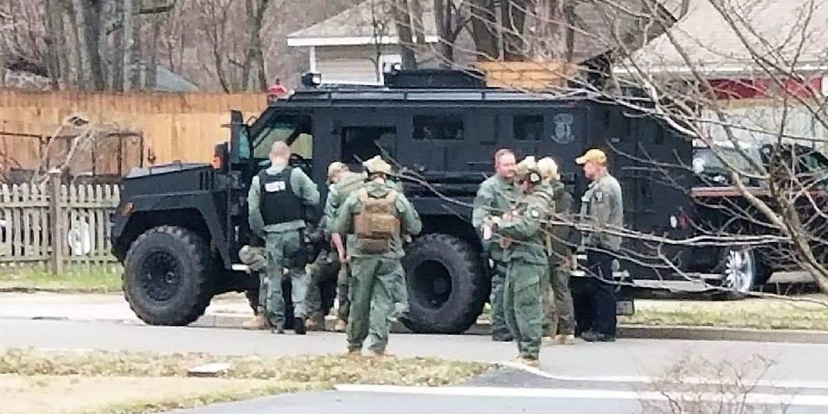 SWAT team swarms Pineville home, arrests man linked to detonating explosive device