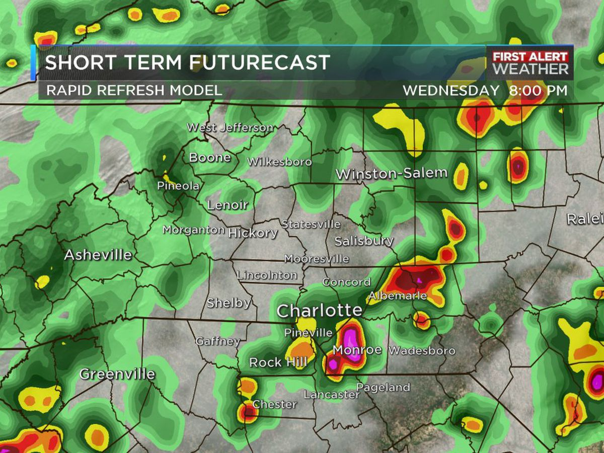 FIRST ALERT DAY: Possible heavy showers, damaging winds