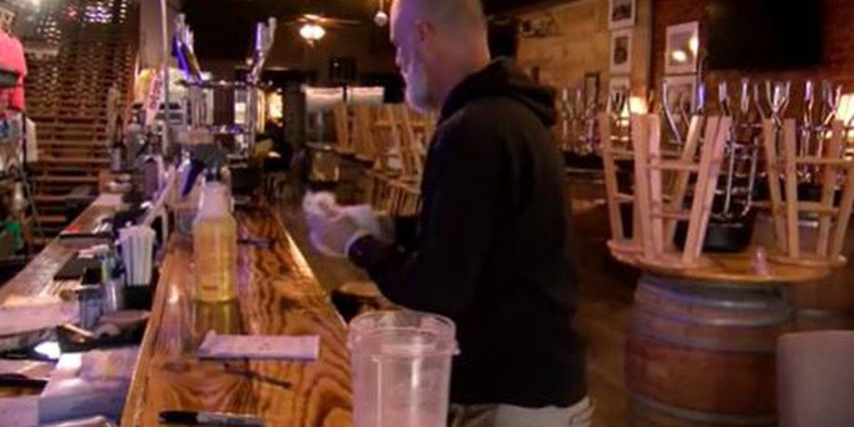 Volunteers help sanitize downtown Morganton and elsewhere