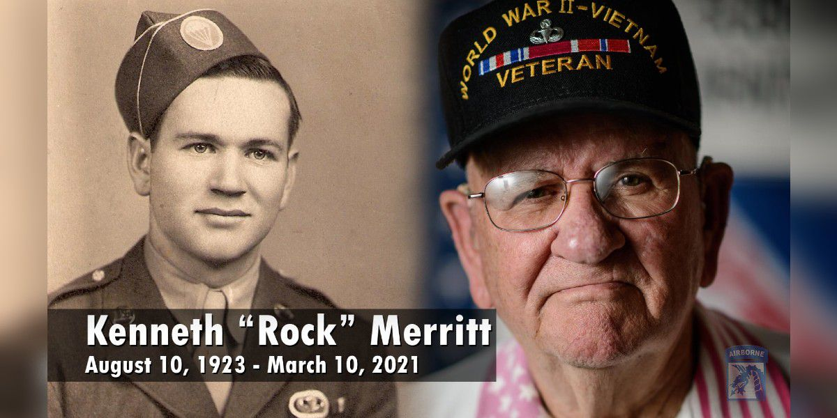 'Rock' Merritt, decorated N.C. veteran who served in WWII and Vietnam, dies at 97