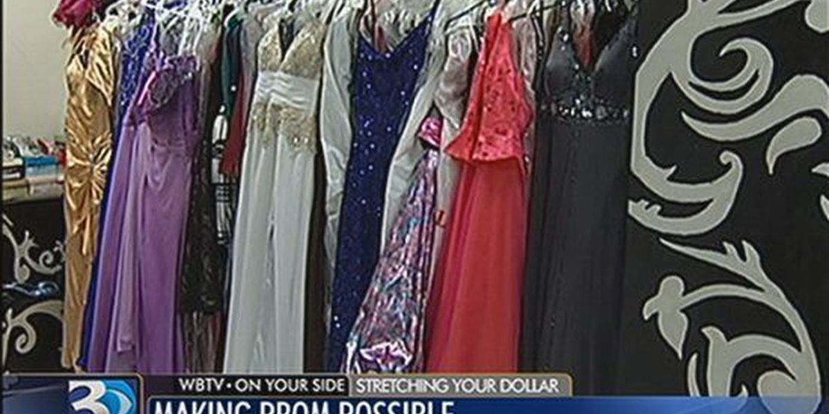 Donations being accepted to help with prom dresses for students