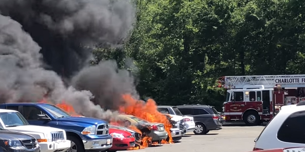 Cause of Carowinds parking lot fire to remain unknown since 'evidence burned up'