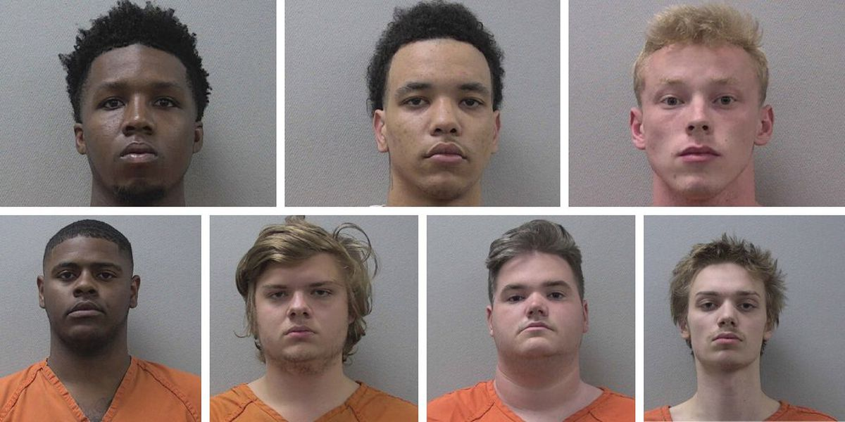 7 arrested in 'mob assault' and armed robbery, Lexington Co. deputies say