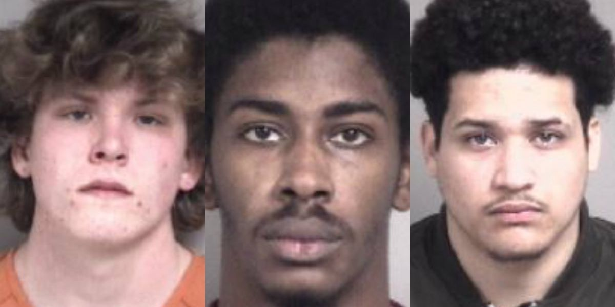 3 arrested for deadly shooting at public park in Cabarrus County