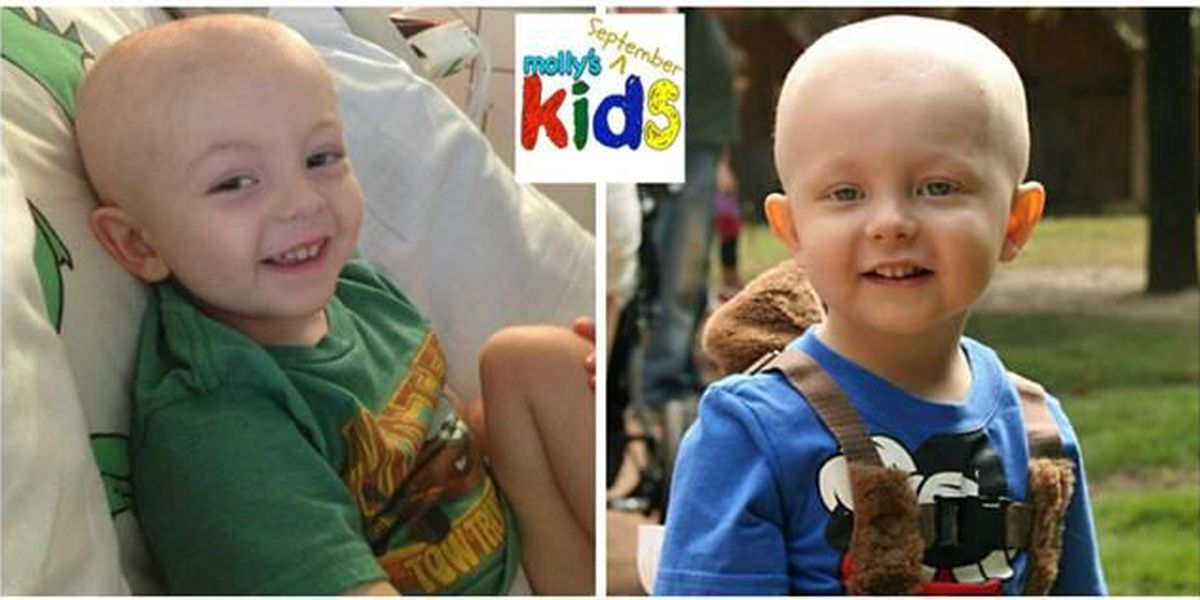 Molly's Kids (Sept. 1st): Harlan the Hero! Helping others in spirit