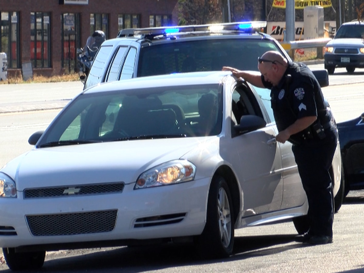 Concord Police busy enforcing no left turn at busy intersection