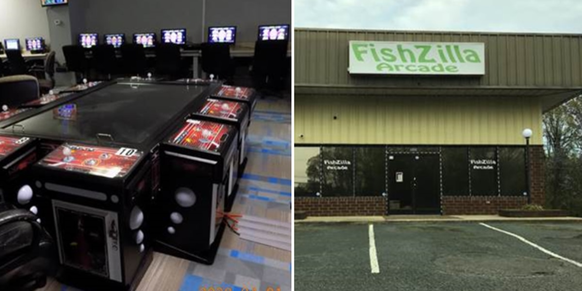 Sheriff seizes gambling equipment from Salisbury fish arcade
