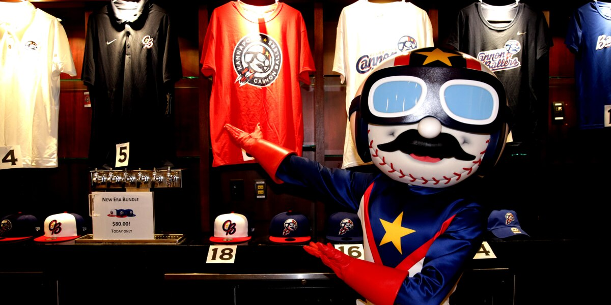 Demand for Kannapolis Cannon Baller merchandise is high, store expands hours