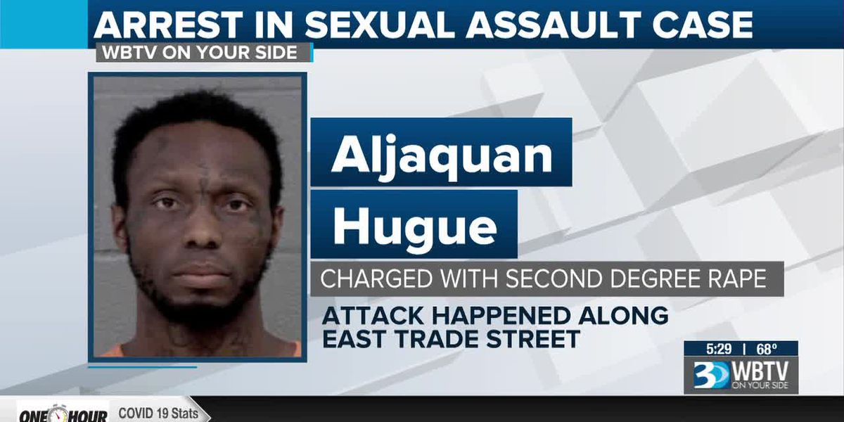 Man accused of pushing woman to ground, sexually assaulting her in Charlotte