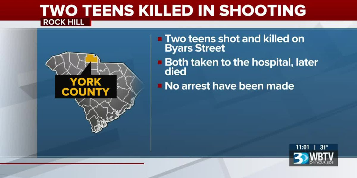 Two teenagers die from shooting outside home in Rock Hill