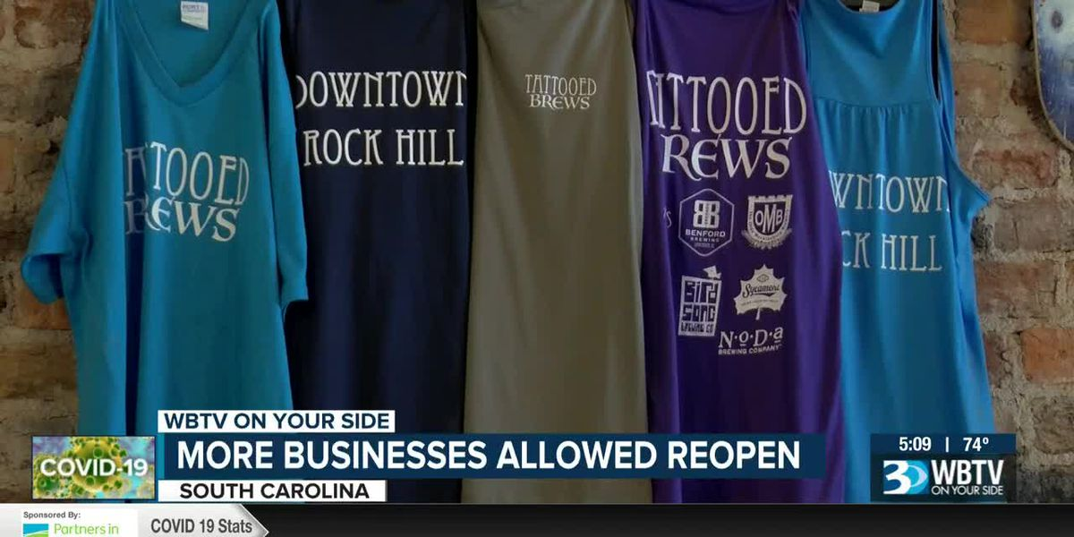 More SC businesses allowed to reopen