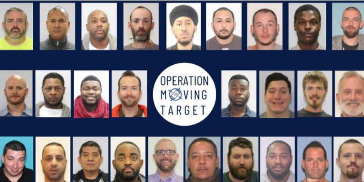 27 alleged sexual offenders arrested in 'Operation Moving Target', Cuyahoga County prosecutor says