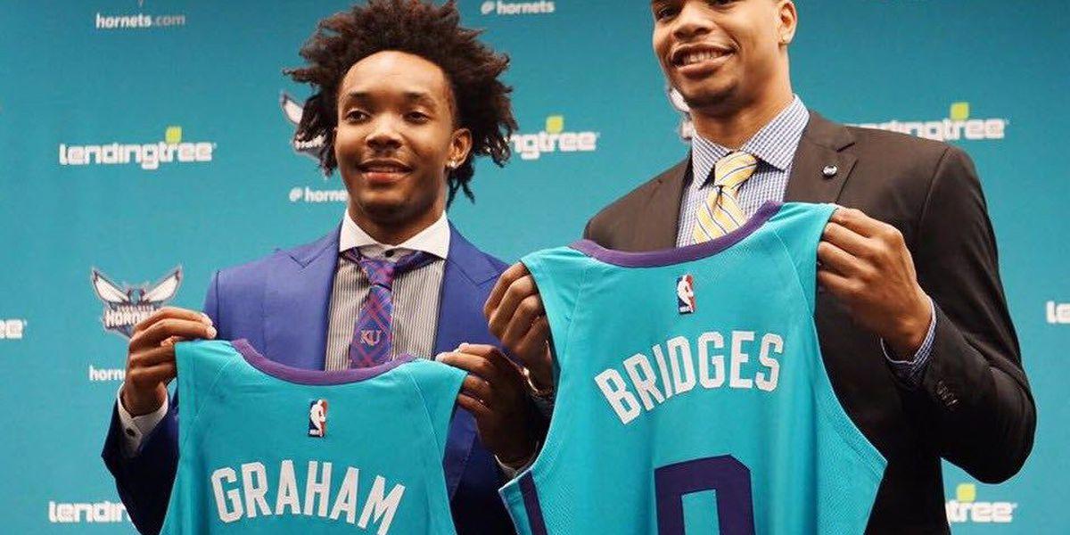 Hornets introduce Miles Bridges and Devonte' Graham