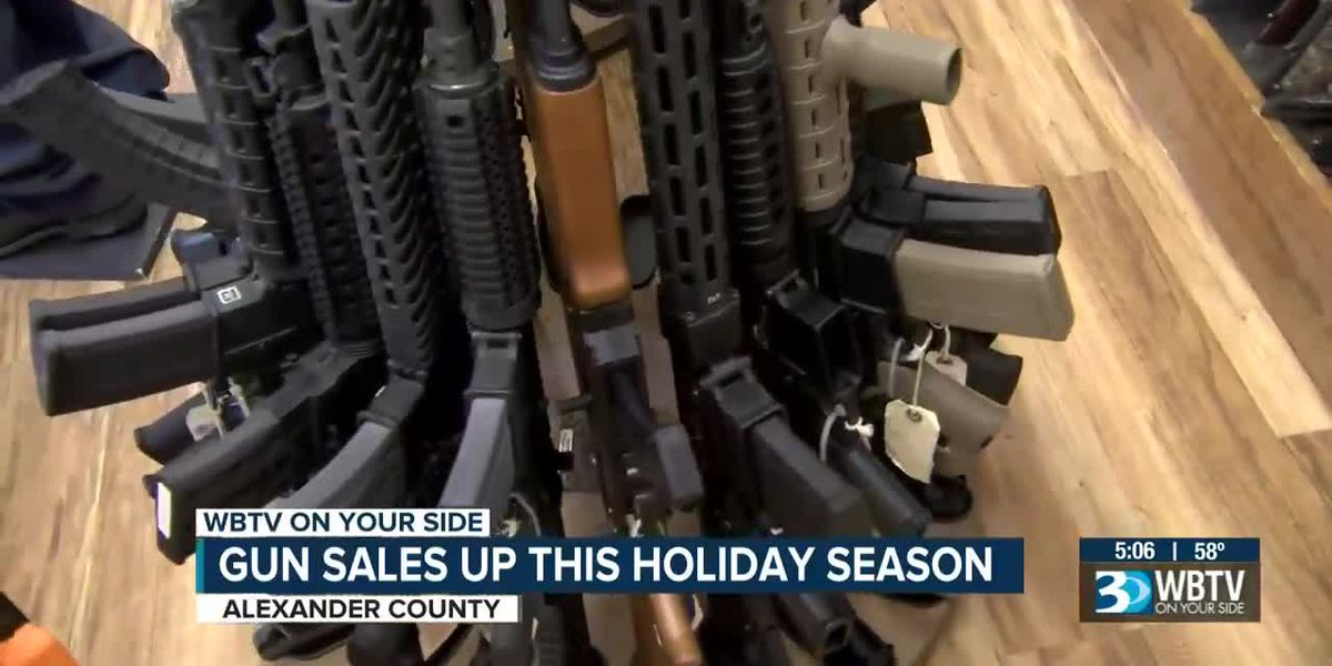 Gun sales strong this holiday season in Alexander Co.