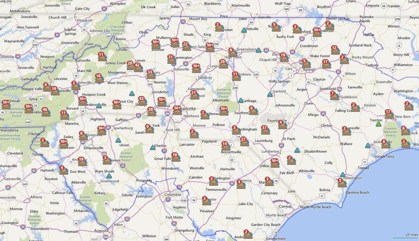Duke Energy: Outages could last through Monday night on