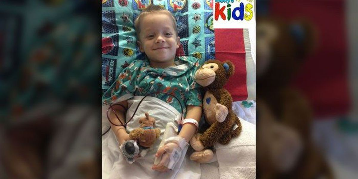 Molly's Kids (Sept 14): Noah Lookadoo. Conover. 4 years old. Just diagnosed.
