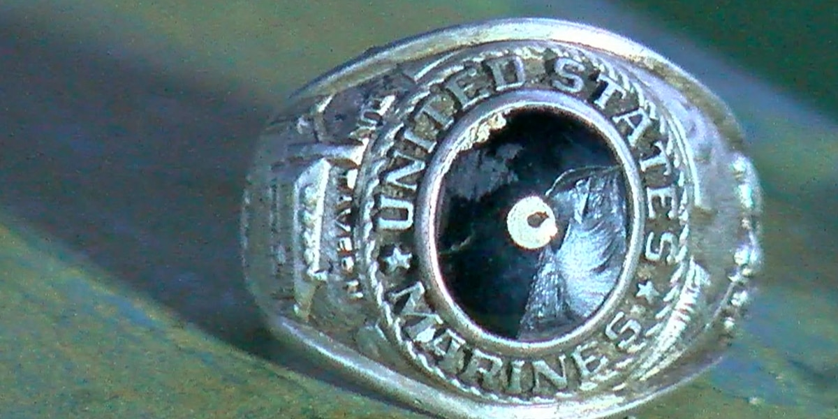 Marion County man reunited with Marine ring passed down from his father and uncle