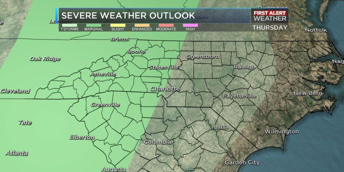 First Alert: Storms to impact Thursday evening commute