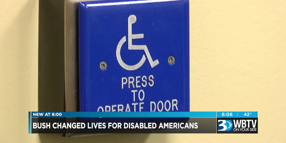 President Bush's legacy with disabled community