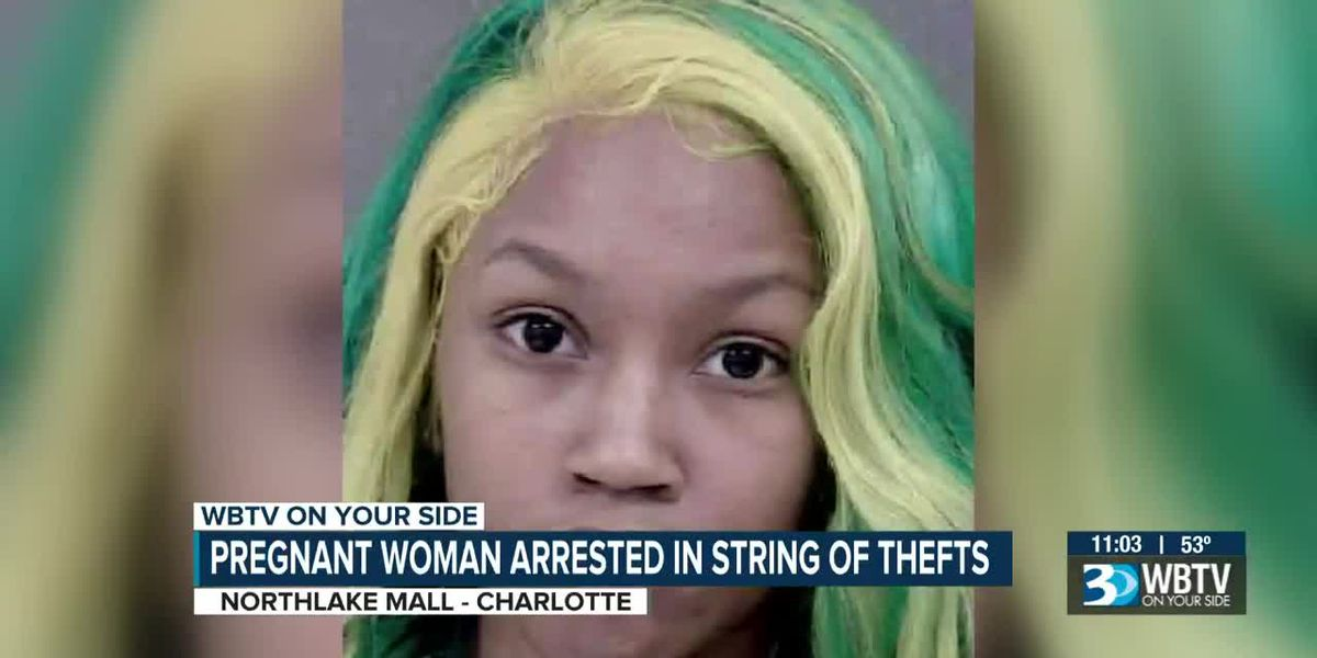 Pregnant woman arrested several times this year, accused of repeatedly stealing from retail stores