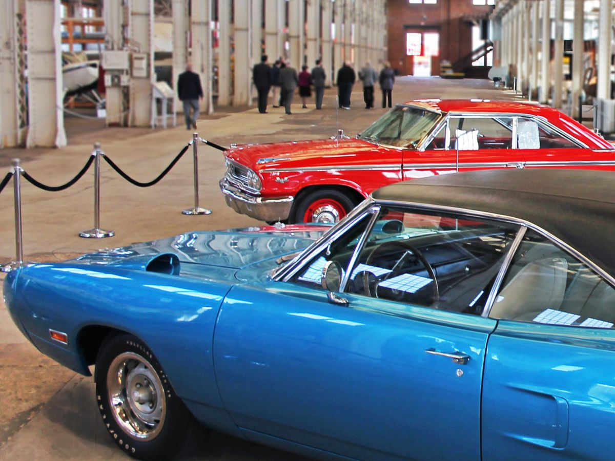 Antique car show this weekend at NC Transportation Museum in Spencer