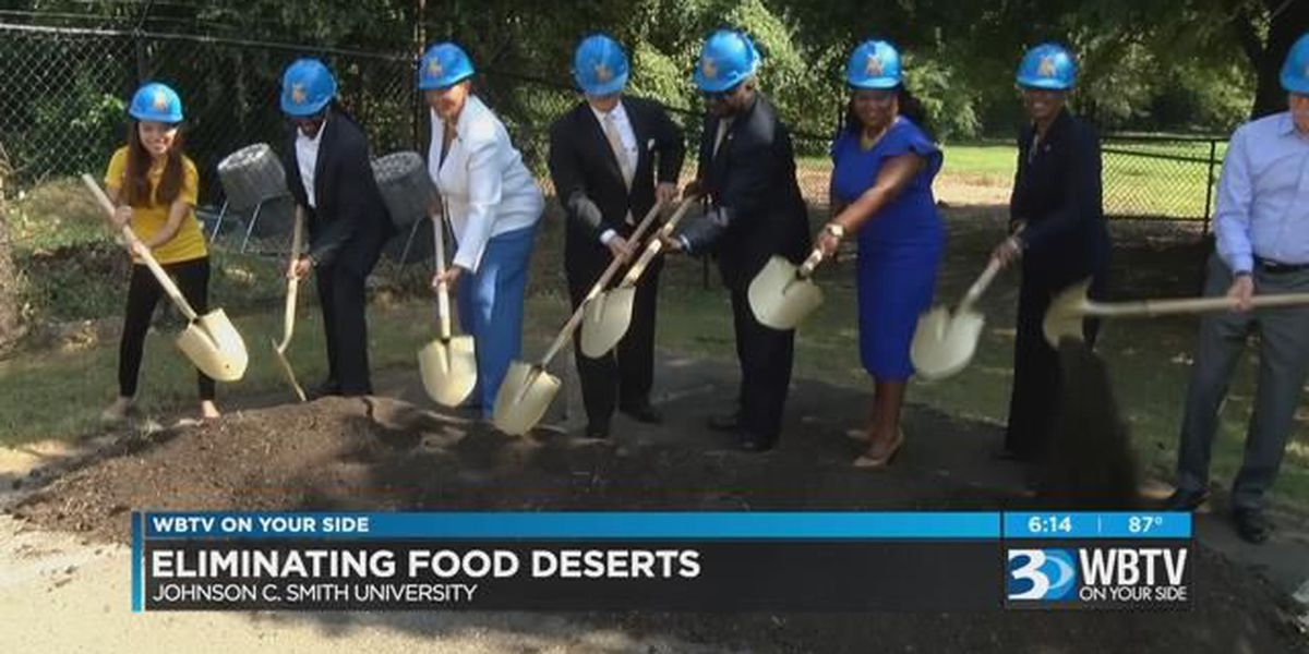 BCBS Partners with JCSU to tackle Food Deserts