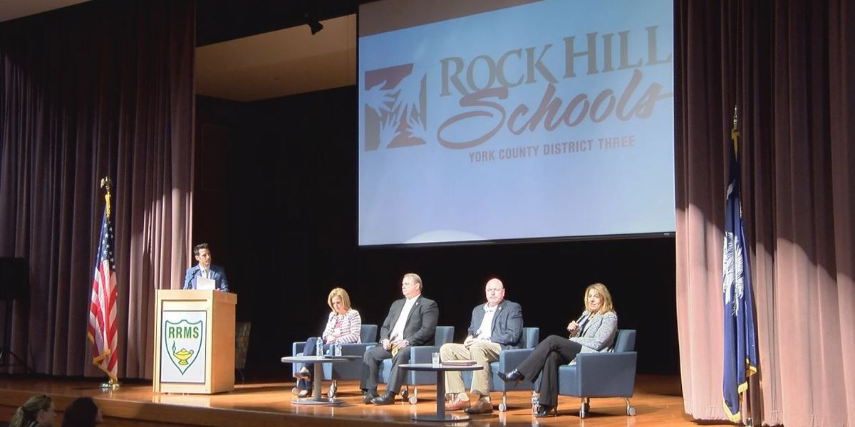 Rock Hill Schools hosts town hall style school safety meeting
