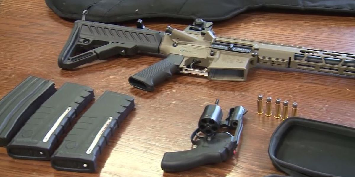 Man drives by ex-workplace with loaded AR-15 after threatening co-workers, police say